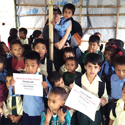 Senior project continuing to help Nepal