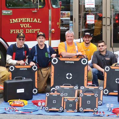 Grant awards Imperial VFD with new equipment
