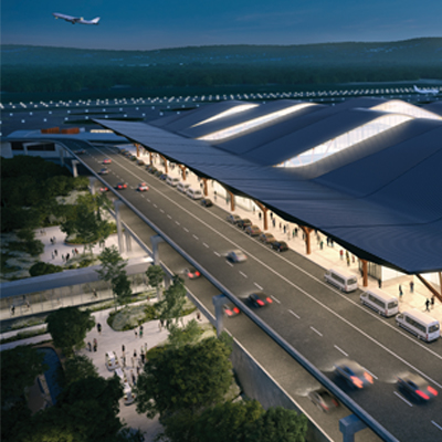 Airport authority unveils new terminal plans