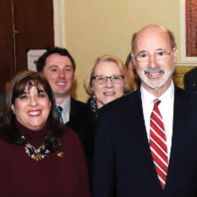 Gov. Wolf visits area