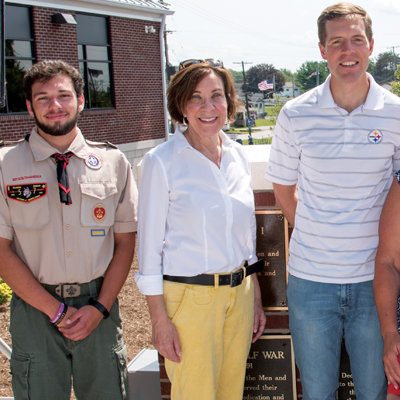Local Eagle Scout project gets big reception
