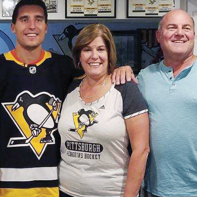 Local Pens ticket holders receive a special delivery