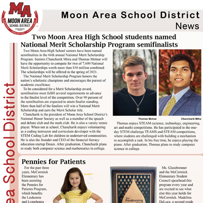 Moon Area School District News