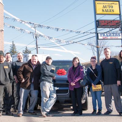 Steubenville Pike Auto donates fourth vehicle