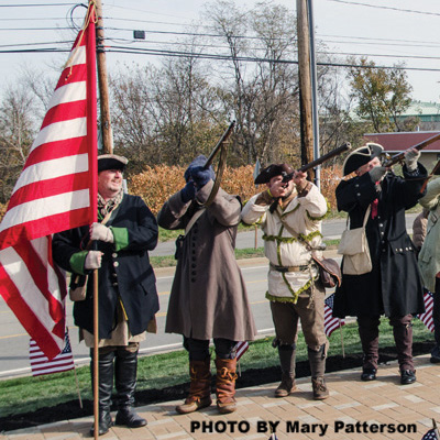 Robinson monument honors Revolutionary War veterans