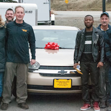 SPARC donates second car