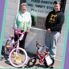 Senior project nets bikes for local families