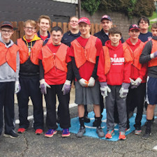 Cleanup Day gets assist from WA hockey