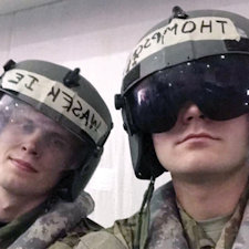Alumni Profile: WA Grads become Army helicopter pilots