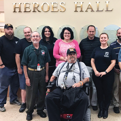 Local veterans team on Day of Caring