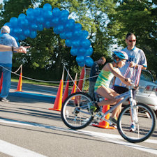 Youth triathlon celebrates five years